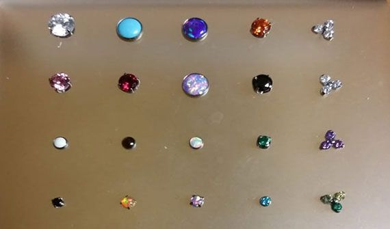 Assorted Neometal Piercing Jewelry