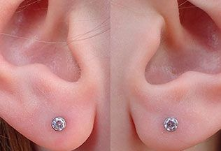 Ear Piercing Close Up 1